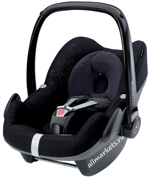 Maxi-Cosi Pebble Total Black