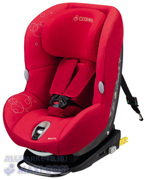 Автокресло Maxi-Cosi Milo Fix Intense Red 2013