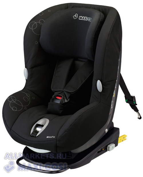 Автокресло Maxi-Cosi Milo Fix Total Black 2013