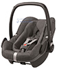 Детское автокресло Maxi-Cosi Pebble Plus Sparkling Grey