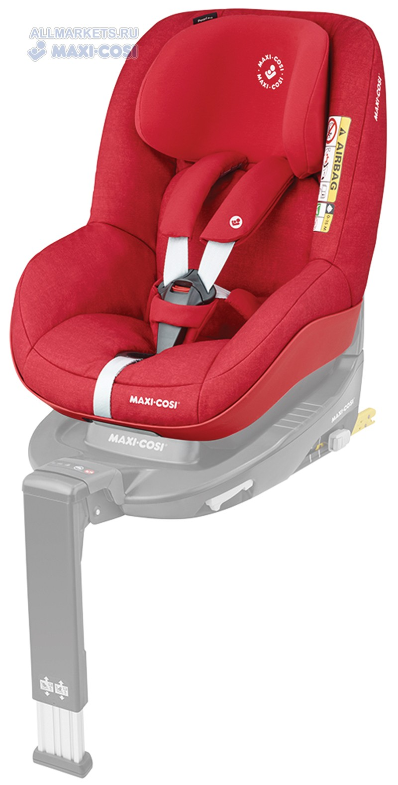 Автокресло Maxi Cosi Pearl Pro I-Size Nomad Red