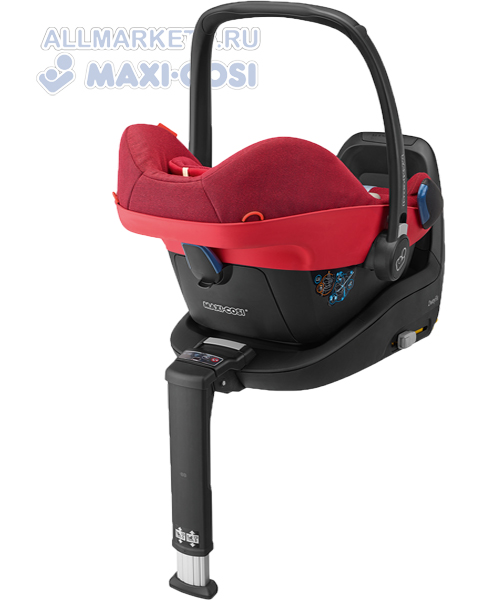 Автокресло Maxi-Cosi Pebble Plus Jet Black 2012